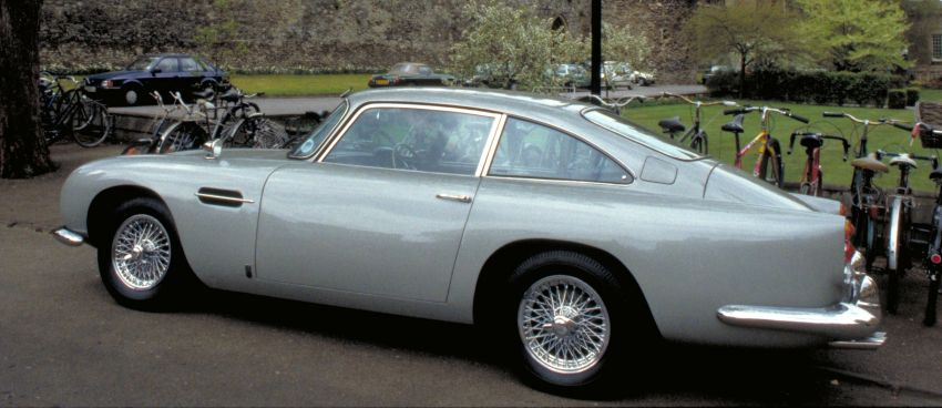 Aston Martin DB5 – Bond's ride being remade, 25 units Image #852748