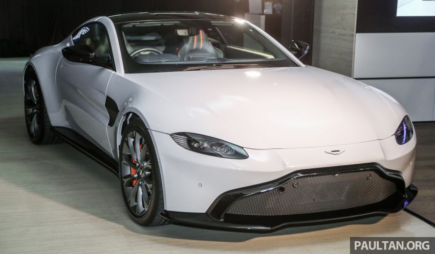 2018 Aston Martin Vantage V8 officially launched in Malaysia – 510 PS, 685 Nm, priced from RM1.6 million Image #853117