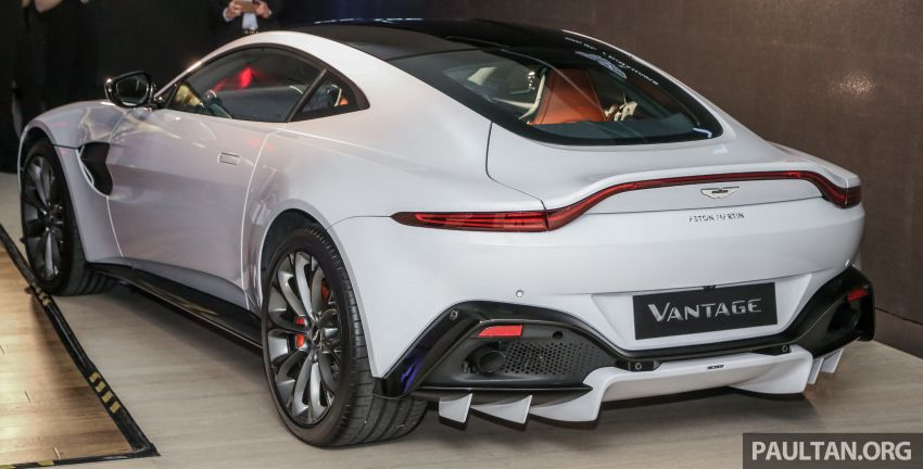 2018 Aston Martin Vantage V8 officially launched in Malaysia – 510 PS, 685 Nm, priced from RM1.6 million Image #853118