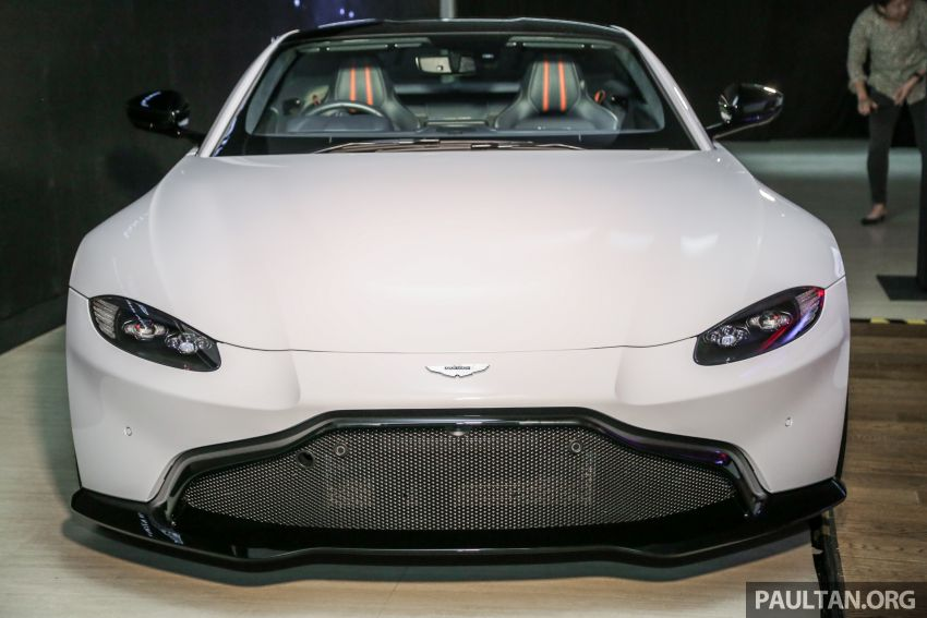 2018 Aston Martin Vantage V8 officially launched in Malaysia – 510 PS, 685 Nm, priced from RM1.6 million Image #853120