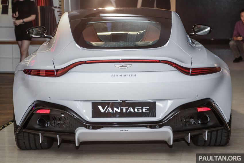2018 Aston Martin Vantage V8 officially launched in Malaysia – 510 PS, 685 Nm, priced from RM1.6 million Image #853121