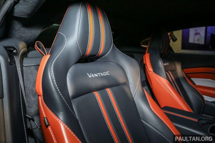 Aston Martin V8 Vantage 2018 kini dilancarkan di Malaysia – 510 PS, 685 Nm, harga dari RM1.6 juta Image #853297