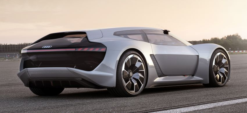 Audi PB18 e-tron – R18 LMP1-inspired electric sports car concept makes Pebble Beach debut, future R8? Image #854911