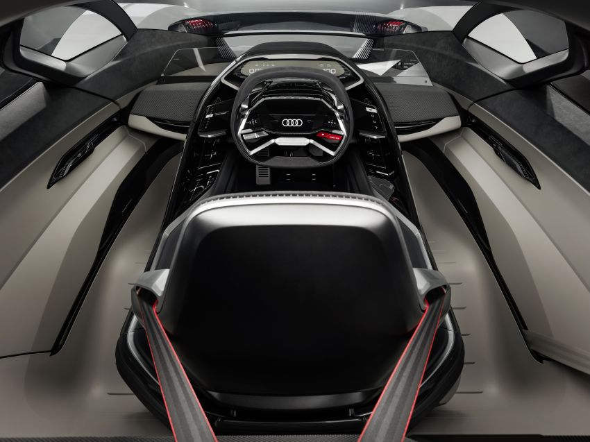 Audi PB18 e-tron – R18 LMP1-inspired electric sports car concept makes Pebble Beach debut, future R8? Image #854915