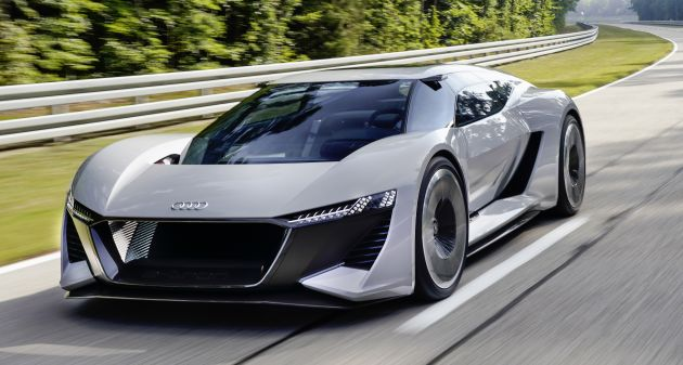 Audi Has Revealed The Pb18 E Tron A Design And Technical Concept Car At Pebble Beach Automotive Week In California Created S New Malibu