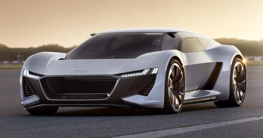 Audi PB18 e-tron – R18 LMP1-inspired electric sports car concept makes Pebble Beach debut, future R8? Image #854920