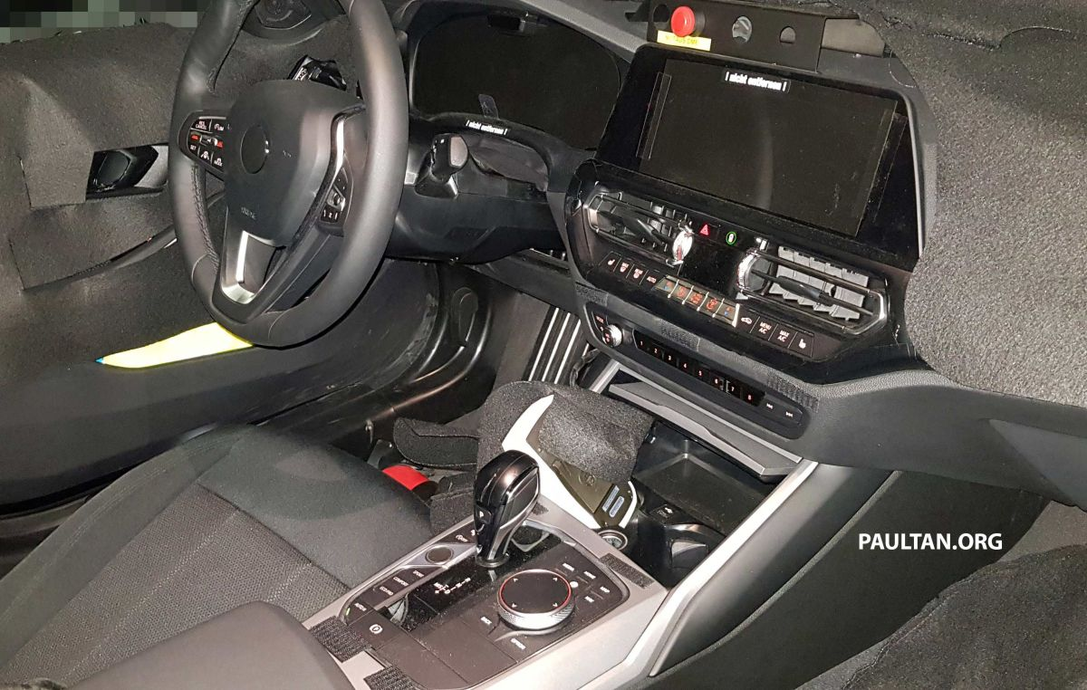 Spied G21 Bmw 3 Series Touring Best Interior View Paultan Org