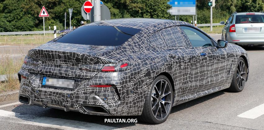 SPYSHOTS: BMW 8 Series Gran Coupe seen testing Image #851586