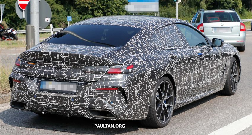 SPYSHOTS: BMW 8 Series Gran Coupe seen testing Image #851587