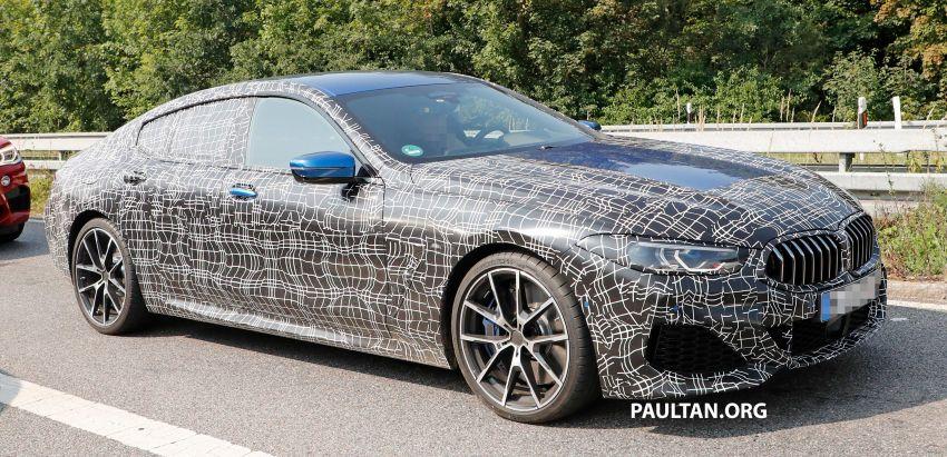 SPYSHOTS: BMW 8 Series Gran Coupe seen testing Image #851578