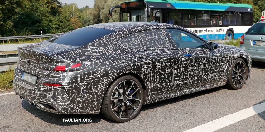 SPYSHOTS: BMW 8 Series Gran Coupe seen testing Image #851581