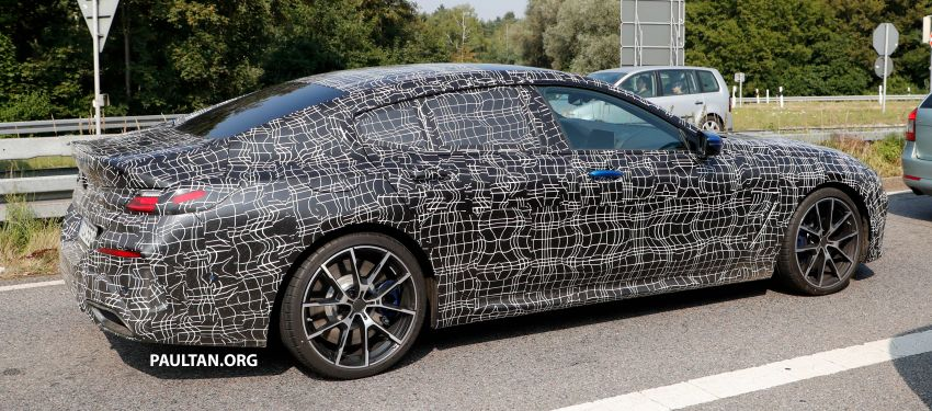 SPYSHOTS: BMW 8 Series Gran Coupe seen testing Image #851582