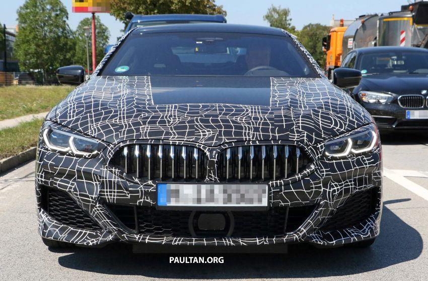 SPYSHOTS: BMW 8 Series Gran Coupe seen testing Image #846072