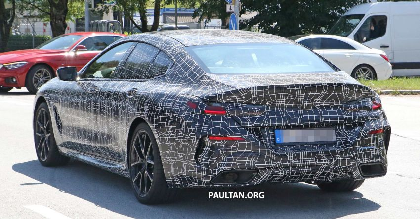 SPYSHOTS: BMW 8 Series Gran Coupe seen testing Image #846082