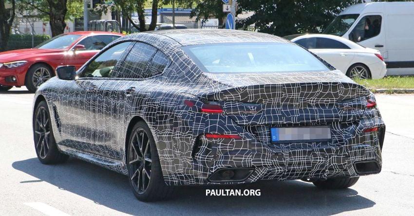 SPYSHOTS: BMW 8 Series Gran Coupe seen testing Image #846082