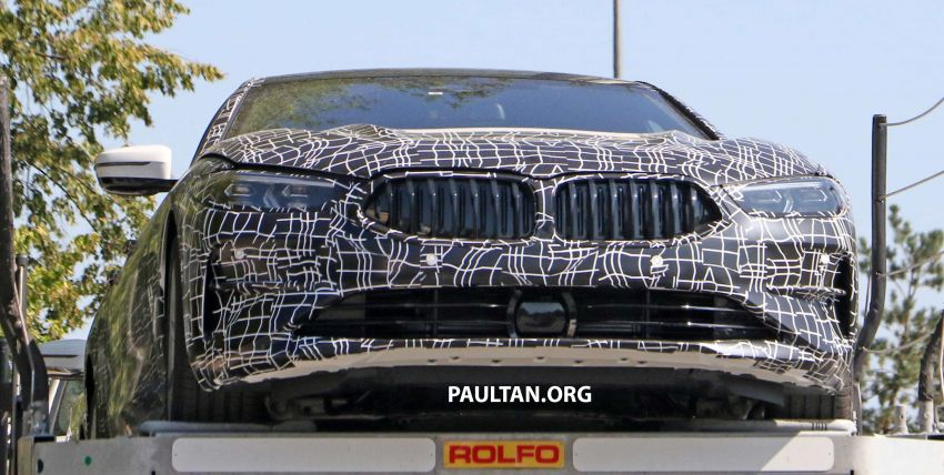 SPYSHOTS: BMW 8 Series Gran Coupe seen testing Image #846084