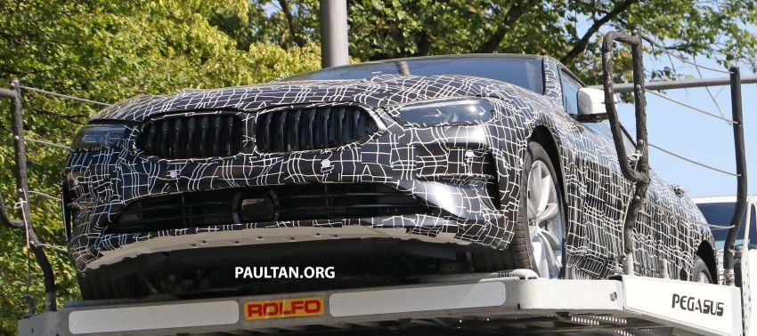 SPYSHOTS: BMW 8 Series Gran Coupe seen testing Image #846117