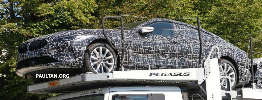SPYSHOTS: BMW 8 Series Gran Coupe seen testing Image #846119