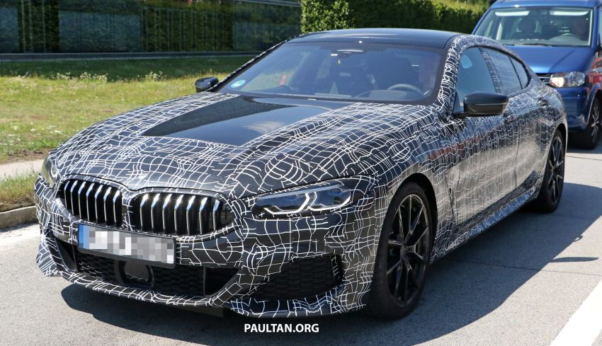 SPYSHOTS: BMW 8 Series Gran Coupe seen testing Image #846074