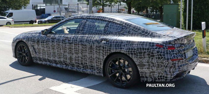 SPYSHOTS: BMW 8 Series Gran Coupe seen testing Image #846078