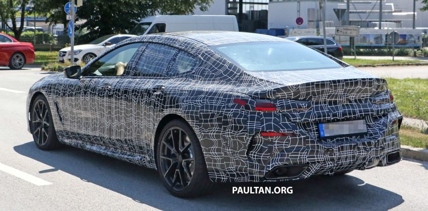 SPYSHOTS: BMW 8 Series Gran Coupe seen testing Image #846079