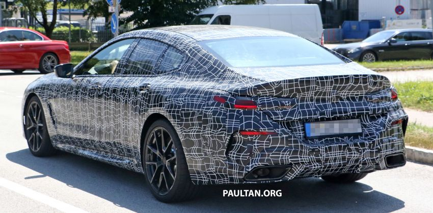 SPYSHOTS: BMW 8 Series Gran Coupe seen testing Image #846080