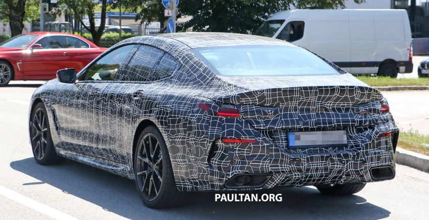 SPYSHOTS: BMW 8 Series Gran Coupe seen testing Image #846081