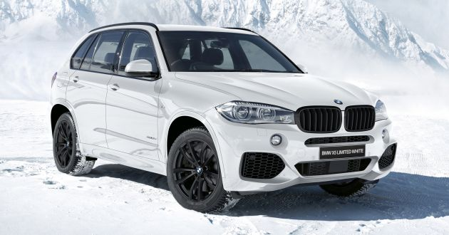F15 Bmw X5 Limited Black White Editions For Japan