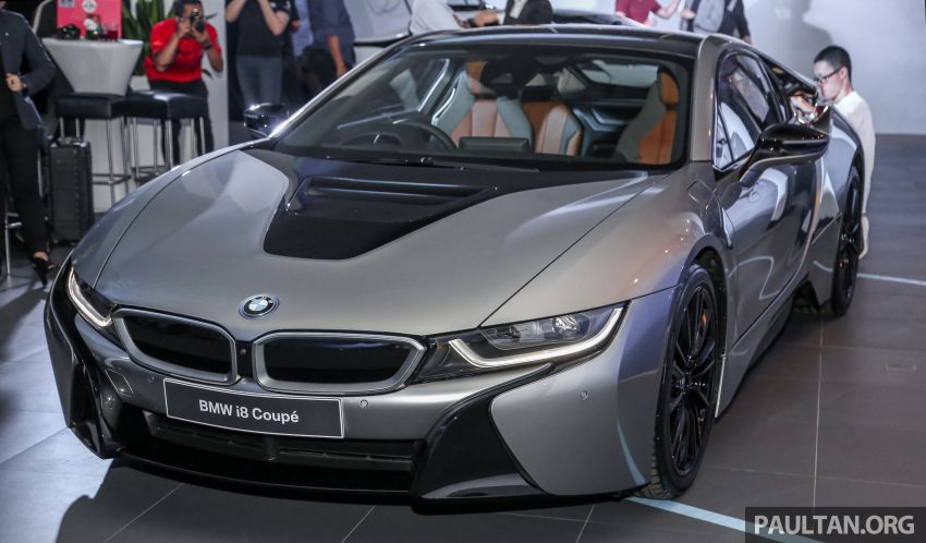 BMW i8 Coupe baharu tiba di Malaysia – RM1.3 juta Image #851276