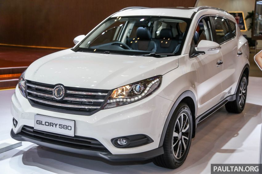 GIIAS 2018: DFSK Dongfeng Sokon Glory 580 –  SUV 1.5L tujuh-tempat duduk buatan China, dari RM69k Image #850004