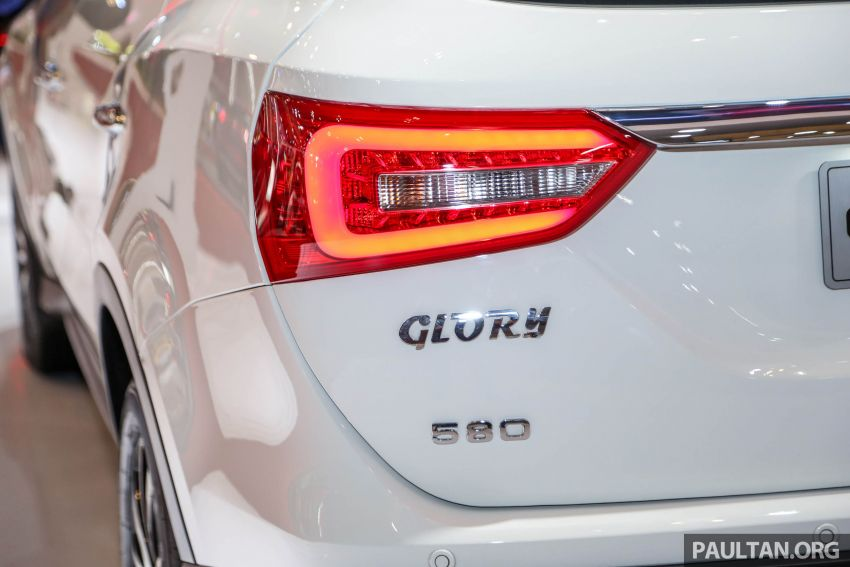 GIIAS 2018: DFSK Dongfeng Sokon Glory 580 – 1.5L turbo seven-seater Chinese SUV, from RM69k Image #849552