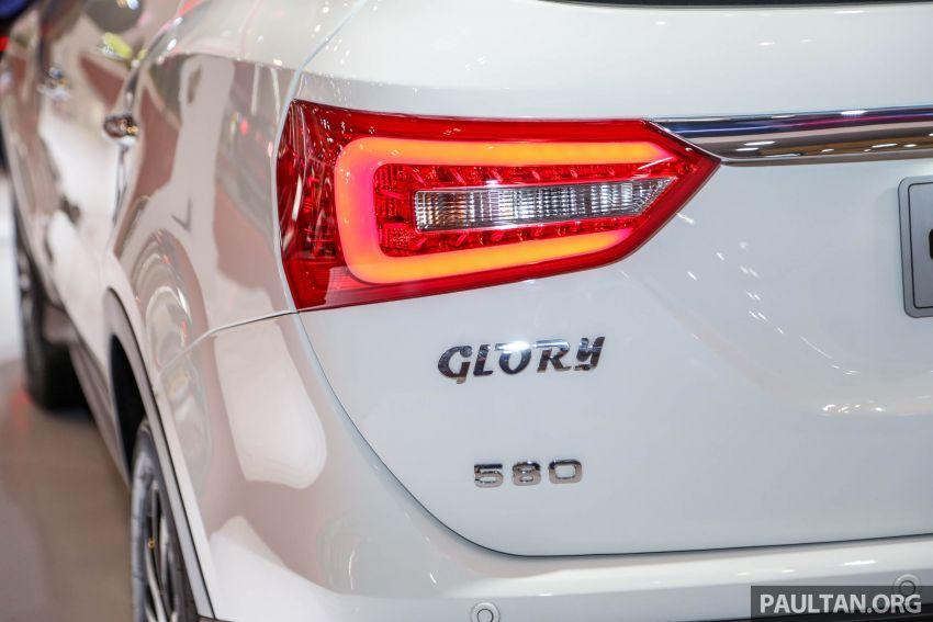 GIIAS 2018: DFSK Dongfeng Sokon Glory 580 –  SUV 1.5L tujuh-tempat duduk buatan China, dari RM69k Image #850014