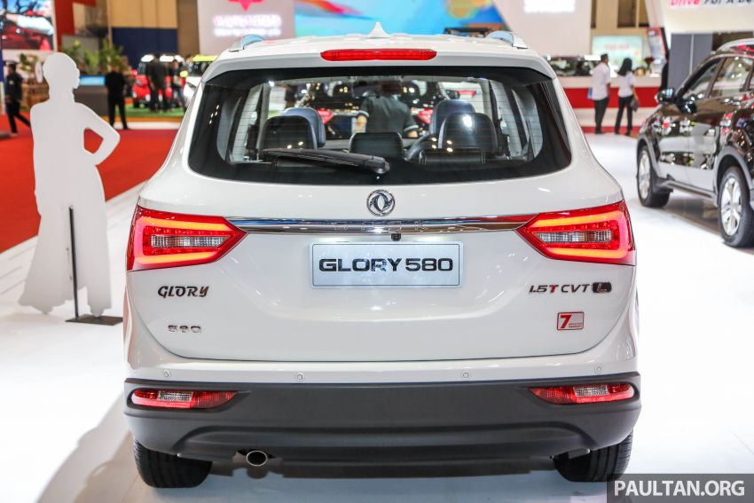 GIIAS 2018: DFSK Dongfeng Sokon Glory 580 – 1.5L turbo seven-seater Chinese SUV, from RM69k Image #849545