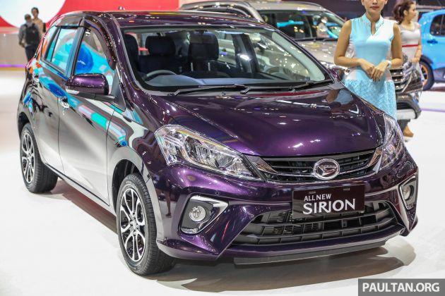 GIIAS 2018: Daihatsu Sirion - D-badged Perodua Myvi