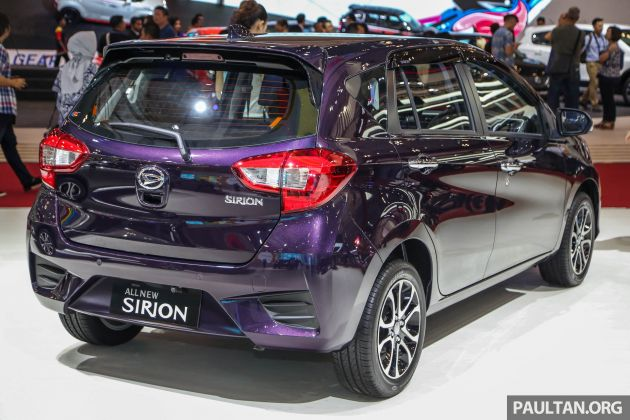 Launched Here In February The Sirion Is Available Only With 1NR VE 13 Litre Engine Paired To Either A Five Speed Manual Or Four Automatic
