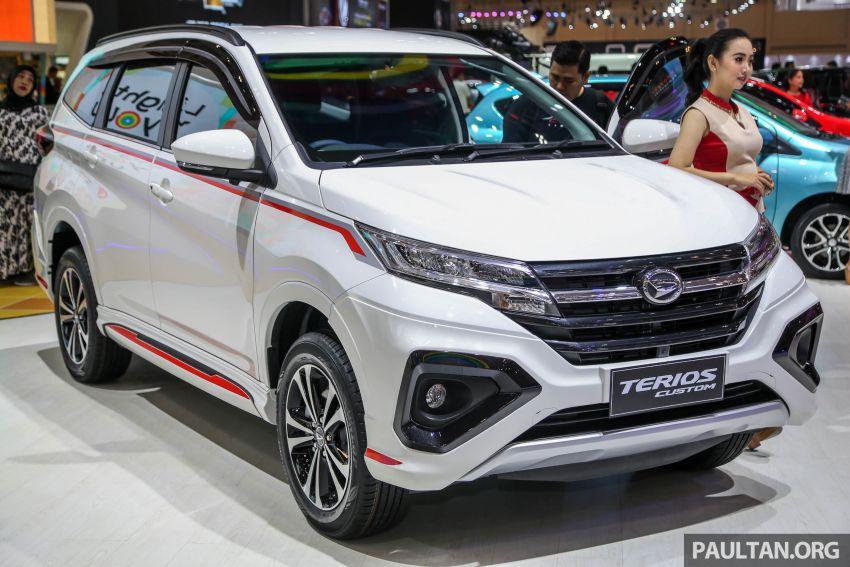 GIIAS 2018: Daihatsu Terios Custom – varian tertinggi bagi model yang akan diguna untuk SUV Perodua Image #847514