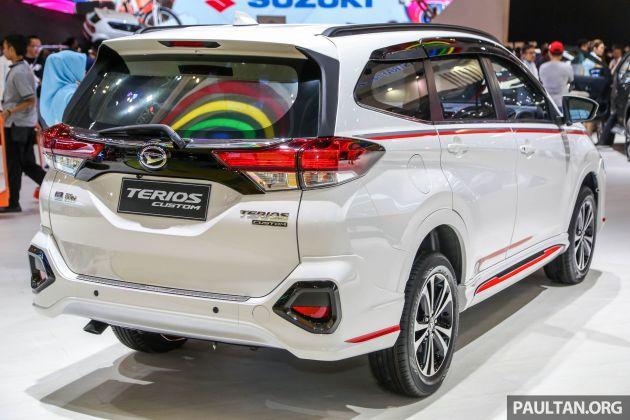 Giias 2018 Daihatsu Terios Custom New Sporty Range Topper For The