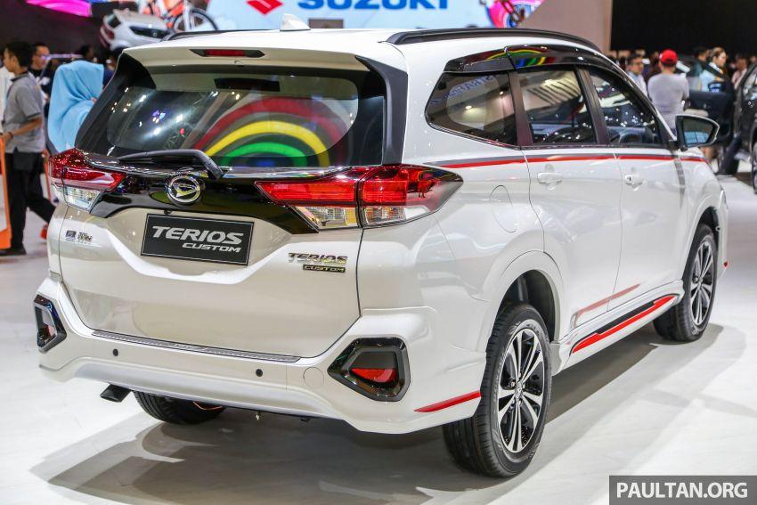 GIIAS 2018: Daihatsu Terios Custom – varian tertinggi bagi model yang akan diguna untuk SUV Perodua Image #847515