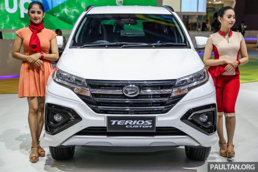 GIIAS 2018: Daihatsu Terios Custom – varian tertinggi bagi model yang akan diguna untuk SUV Perodua Image #847516