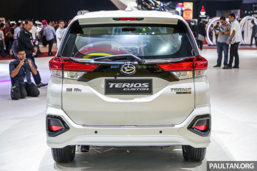 GIIAS 2018: Daihatsu Terios Custom – new sporty range topper for the Perodua SUV donor model Image #846679