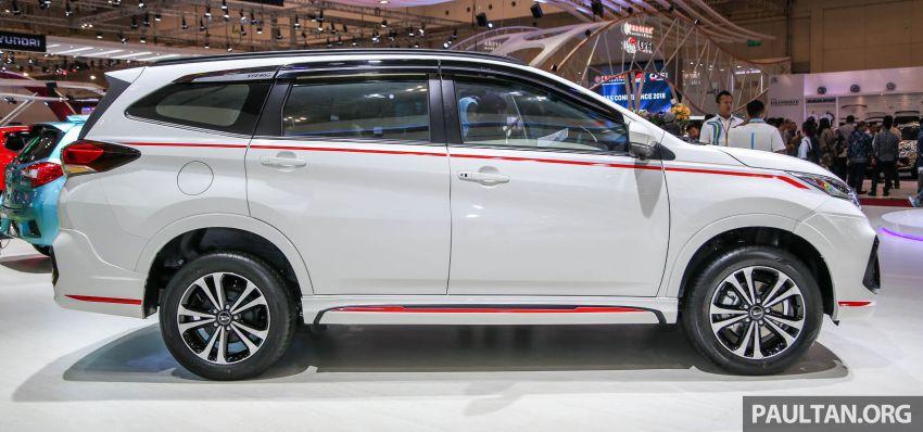 GIIAS 2018: Daihatsu Terios Custom – new sporty range topper for the Perodua SUV donor model Image #846680