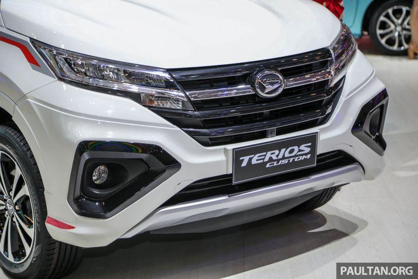 GIIAS 2018: Daihatsu Terios Custom – varian tertinggi bagi model yang akan diguna untuk SUV Perodua Image #847519