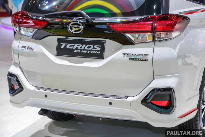 GIIAS 2018: Daihatsu Terios Custom – new sporty range topper for the Perodua SUV donor model Image #846682