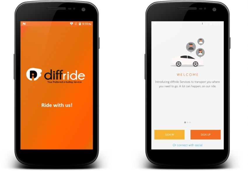 New e-hailing service diffride launched in Malaysia Image #853084