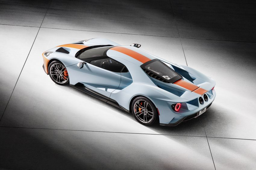 2019 Ford GT Heritage Edition with iconic Gulf livery Image #855375