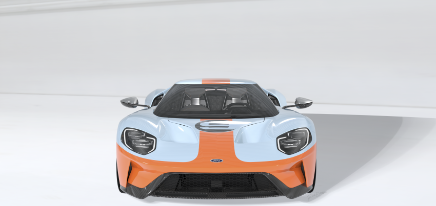 2019 Ford GT Heritage Edition with iconic Gulf livery Image #855384