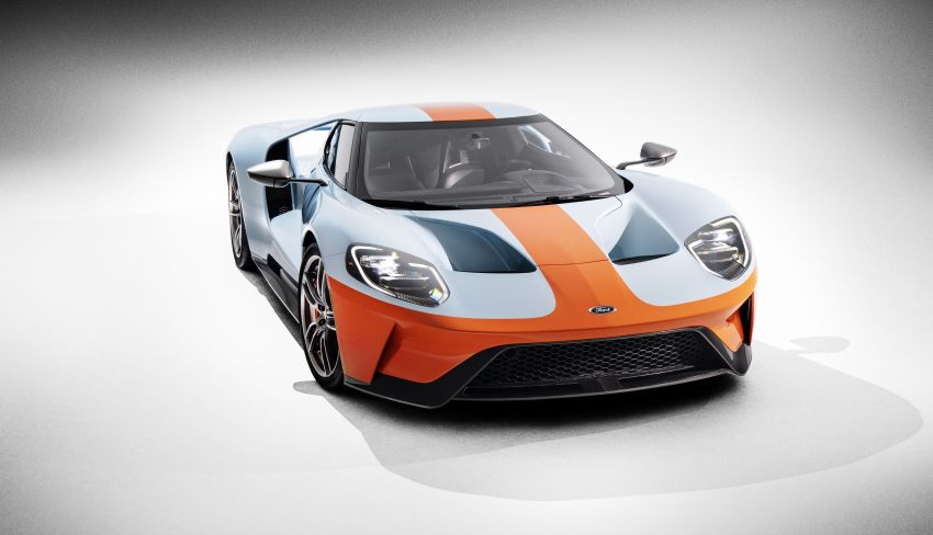 2019 Ford GT Heritage Edition with iconic Gulf livery Image #855385