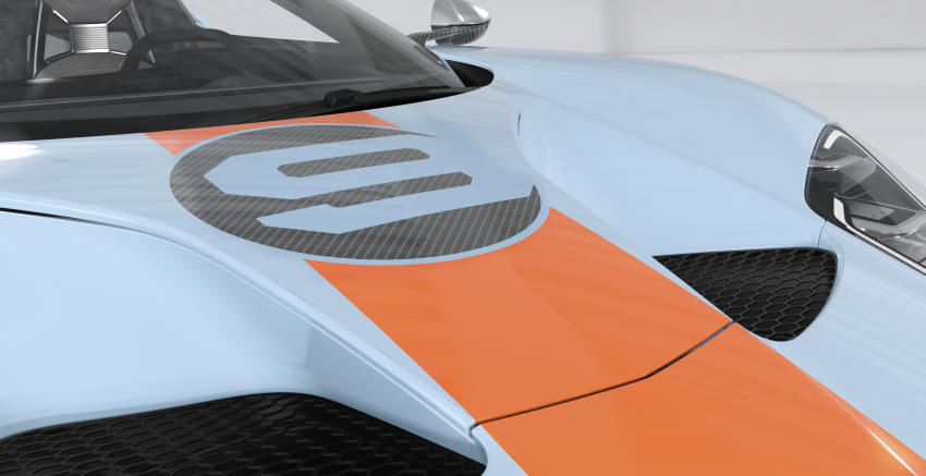 2019 Ford GT Heritage Edition with iconic Gulf livery Image #855379