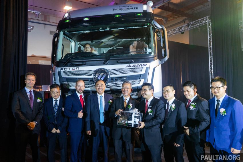 Foton Auman EST A prime mover launched in Malaysia Image #850227