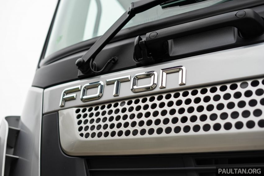 Foton Auman EST A prime mover launched in Malaysia Image #850236